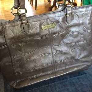 Like new Coach Tote